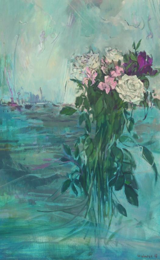 fleurs océan, melmoux, 116x73